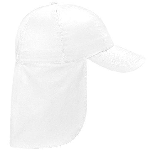 Beechfield Headwear - Casquette Baseball B11b Junior - Taille unique, Blanc