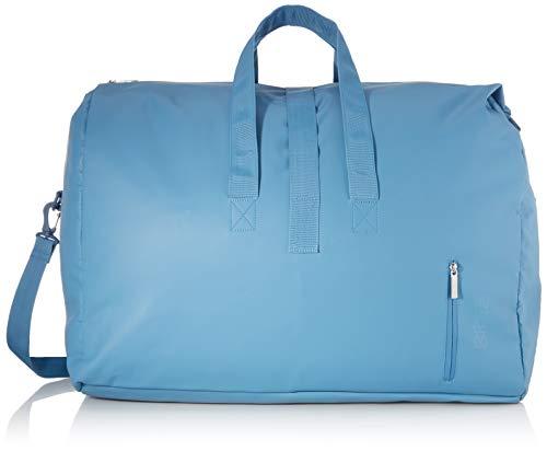BREE Unisex-Erwachsene PNCH 714 weekender Umhängetasche, Blau (Provincial Blue), 30x32x60 cm