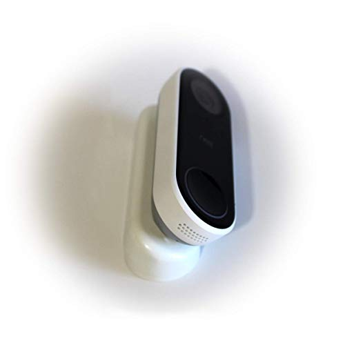 AirTech Home Automation - Nest Hello Wedge – White (Classic Pill) – 30° to 45° Angle