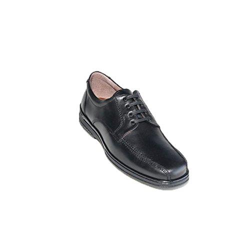 Zapato Cordones Hombre Especial para diabéticos Muy cómodo Primocx en Negro Talla...
