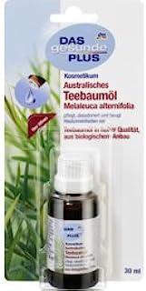 Das Gesunde Plus Australisches Teebaumöl 30ml pflegt, desodoriert und beugt Hautunreinheiten vor