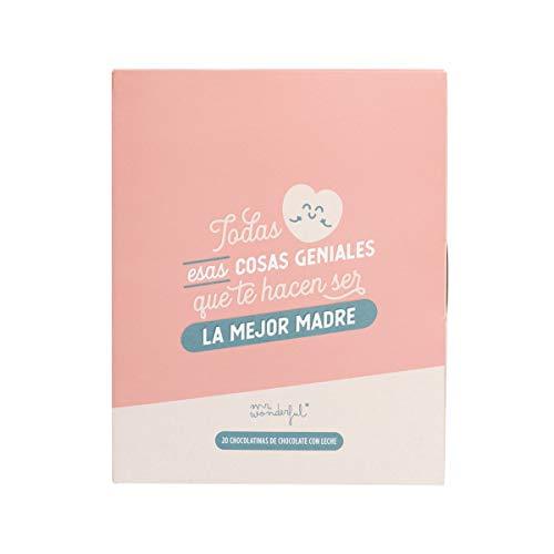 Mr.Wonderful Libro con chocolatinas, Multicolor, Unico
