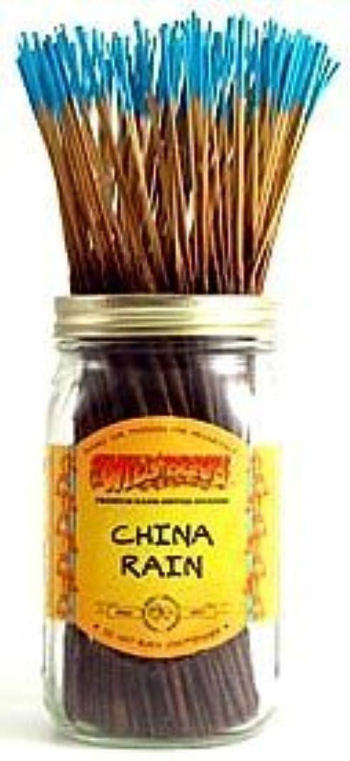 テスピアンに沿って数値China Rain - 100 Wildberry Incense Sticks [並行輸入品]