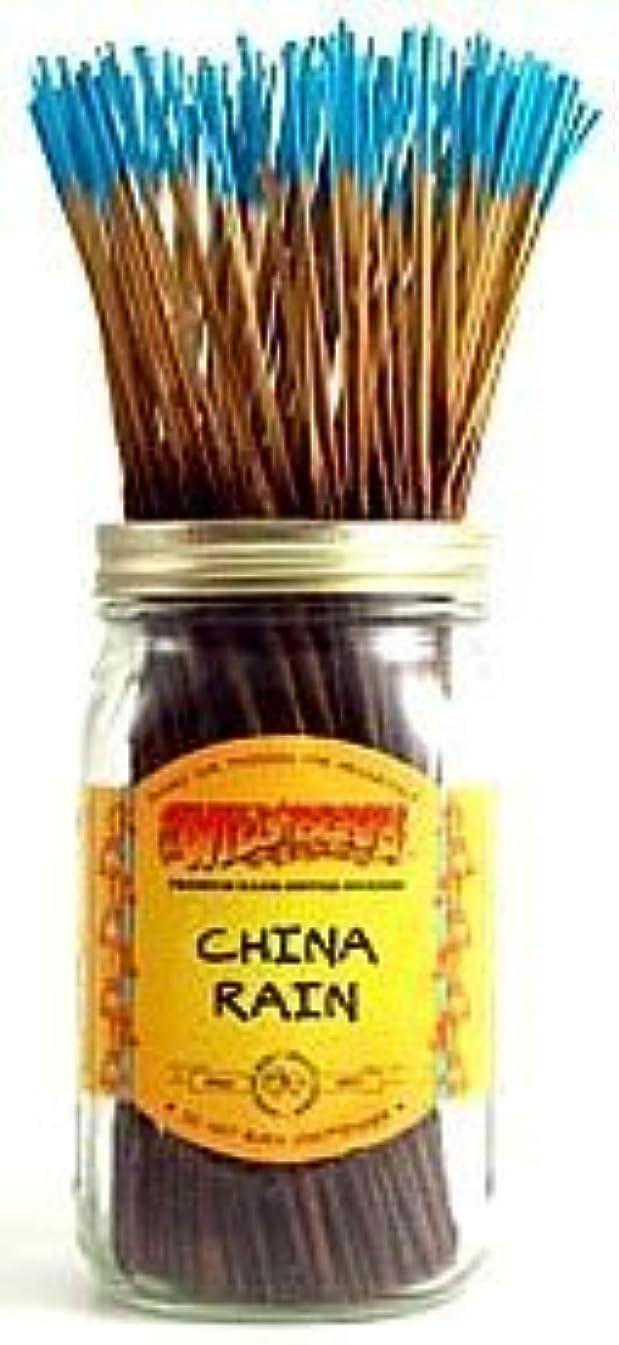 机祖父母を訪問ブラシChina Rain - 100 Wildberry Incense Sticks [並行輸入品]