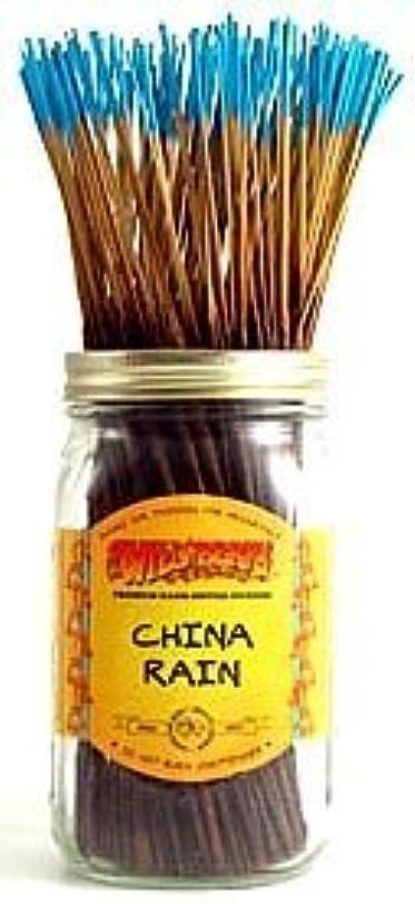 割り当てます鋭くレッドデートChina Rain - 100 Wildberry Incense Sticks [並行輸入品]