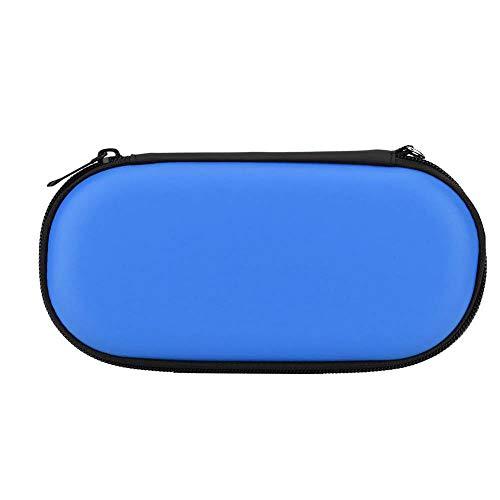 Funda Protectora Dura, Funda portátil e Impermeable Funda de Transporte Bolsa de Viaje con Carcasa rígida para Sony PS Vita(Blue)