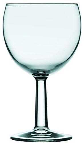 Gastro Spirit - 12-er Set kleine Weißwein-Gläser - 0,1 Liter, robust, spülmaschinenfest - 6 Verschiedene Setgrößen erhältlich (6, 12, 18, 24, 30, 36 STK.), Serie Banquet