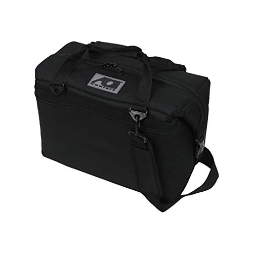 [AOクーラーズ] AO Coolers クーラーボックス 24 PACK CANVAS キャンバス BLACK [並行輸入品]