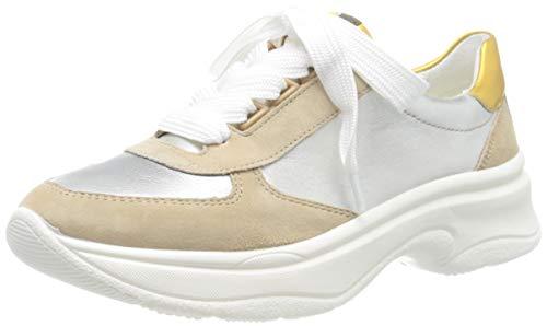 ARA Roma, Zapatillas Mujer, Amarillo Camel Oro Blanco Amarillo 07, 37 EU