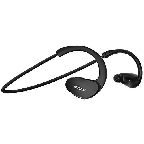 Mpow Cheetah Bluetooth Kopfhörer, Sportkopfhörer Wasserdicht, 8 Stunden Spielzeit/Bluetooth 4.1/ Stereo-Sound/Mikrofon, Sport Kopfhörer Kabellos Joggen/Laufen/Fitness für iPhone Samsung Android
