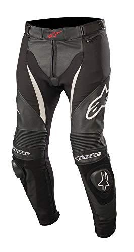 Alpinestars SPX Leder/Textil Hose Schwarz/Weiß 46