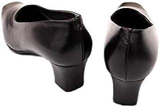 日本製 国産 本革 フォーマルパンプス 大きいサイズ 黒 超高級革 パンプス ローヒール 太ヒール 痛くない 歩きやすい 4E フォーマル 通勤 コンフォートパンプス