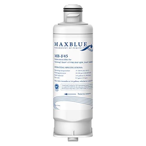 Price comparison product image Maxblue DA97-17376B Refrigerator Water Filter,  Compatible with HAF-QIN / EXP,  DA97-17376B,  DA97-08006C,  HAF-QIN,  RF23M8070SR