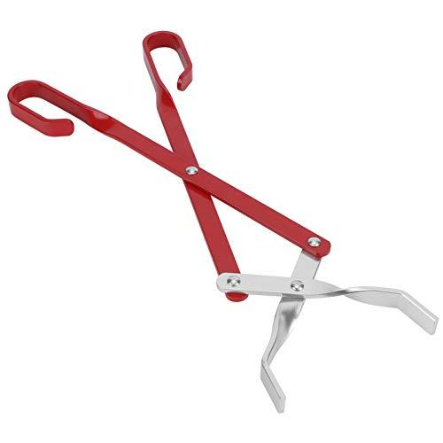 Omabeta Aluminum Food Tongs Scissor‑like Anti‑Scald Food Tong Barbecue Tools Cooking Tongs Camping Parties Restaurant for Home