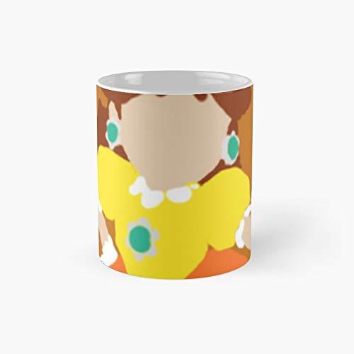Minimalist Princess Daisy-style Drawing Classic Mug