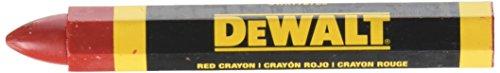 DEWALT DWHT72720 Red Lumber Marking Crayon 2 pack