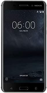 Nokia 6 Dual Sim - 64GB, 4GB RAM, 4G LTE, Matte Black