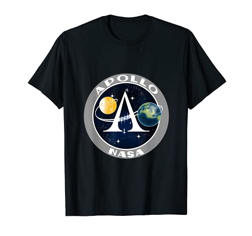 NASA Apollo Insignia – Apollo's 50. Jahrestag T-Shirt