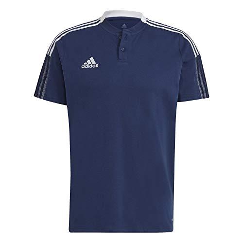 adidas GH4462 TIRO21 Polo Polo Shirt Mens Team Navy Blue M