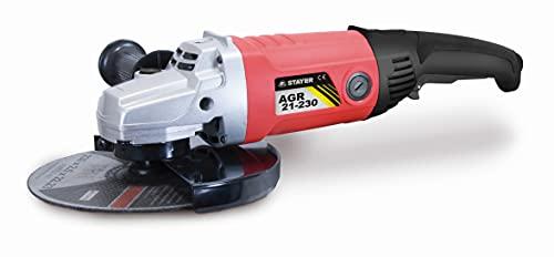 STAYER 1.1771 - Amoladora angular 230 mm 2100W 6500 rpm 4,2 Kg AGR 21-230