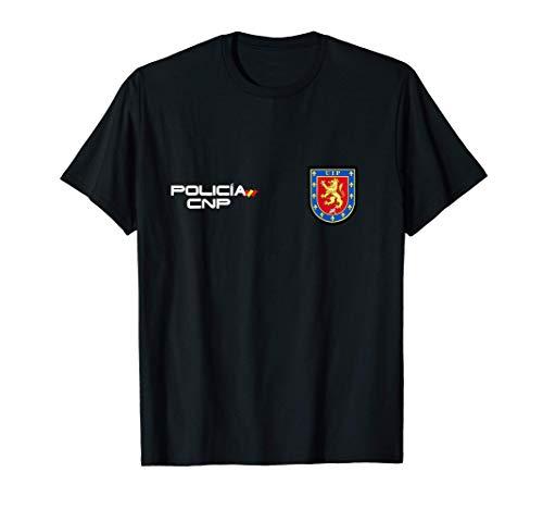 Camiseta de Policia Nacional Espaa Camiseta
