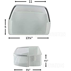 QRInnovations AAP73252202 Door Shelf Bin Compatible with LG Refrigerator
