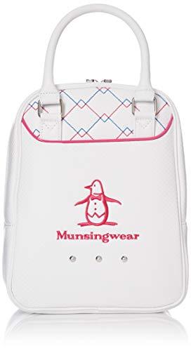 [マンシングウェア] シューズケース MQCNJA22 ホワイト×ピンク