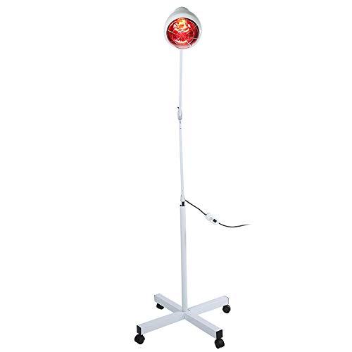 EBTOOLS Lámpara de Terapia de luz roja, lámpara infrarroja de circulación sanguínea con Rodillo beneficioso para la Salud Humana. para salón para Uso doméstico