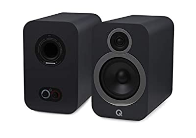 Q Acoustics 3030i Bookshelf Speaker (Pair) (Graphite) by Q Acoustics