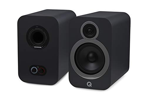 Q Acoustics 3030i - Par de altavoces para estantería (gris)