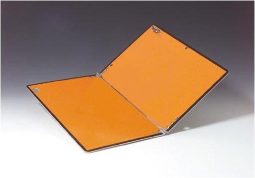3716. Waarschuwingsbord volgens ADR, inklapbaar, aluminium 2 mm, gelamineerd met reflecterende folie aluminium, type 1, retroreflecterend uitgerust, afmeting 40,00 cm x 30,00 cm