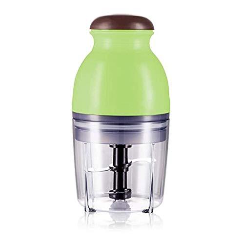 JISHIYU Robot de cocina, eléctricos Food Chopper amoladoras, procesador de 250 W All-In-One multifuncional de alimentos, licuadora, Grinder (Color : Green)