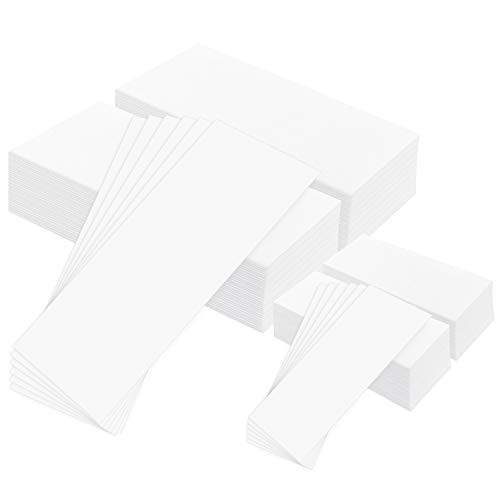 Whaline 400 Pieces Non-Woven Wax Strip, Hair Removal Wax Strips Body and...