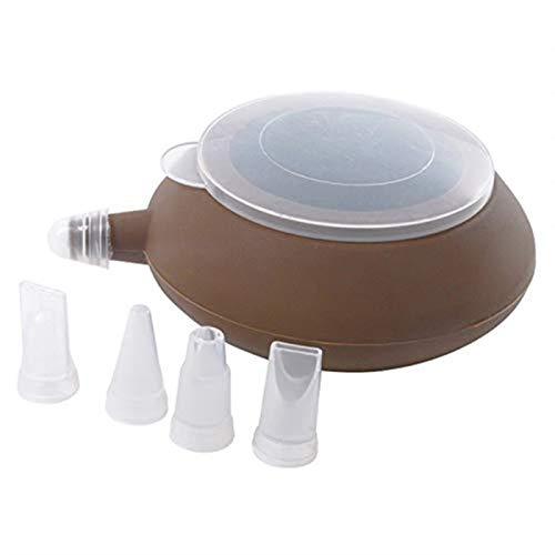 Backblech Backform Antihaft Backform Set Macaroon Kit Macaron Silikon Matte 48 Kapazität Makaron Pot Kuchen Dekorieren Lieferungen (Farbe : Macaron Pot)