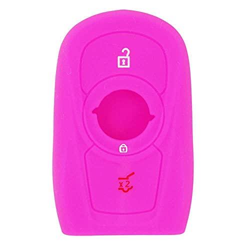 MIOAHD Accesorios de Coche Protector de Llave 3 Botones, Apto para Buick Envision Vervno GS 20T 28T Encore Opel Astra k