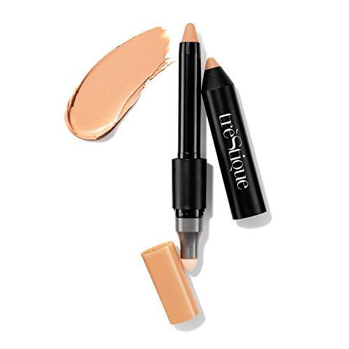 treStiQue Concealer Crayon, Makeup Stick Corrector, Face Concealer, Concealer Makeup, Concealer Stick With Built-In Blending Sponge, Concealer Pencil