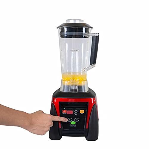 SXZHDZ Licuadora 2L Licuadora Multifuncional de 2200 W Licuadora de Frutas y Verduras de Gran Capacidad Licuado Mezcla de trituración Certificación PSE Comercial y de Consumo (licuadora)