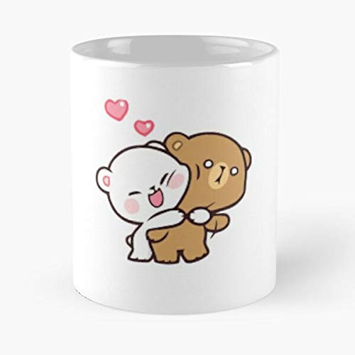 Milk - Mocha Teddy Bear 1 Classic Mug Ceramic Coffee White (11 Ounce) Tea Cup Nursing Appreciation Gifts For Nurse Practitioner-hinpeste
