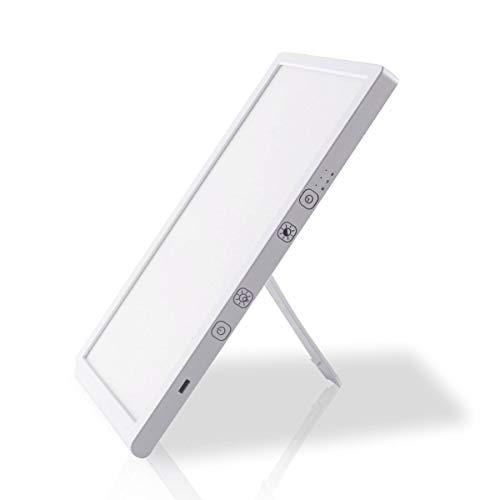 Lievä Premium SAD Lamp | 10 000 Lux Desk Lamp | USB Type-C | Sunlight LED | Portable Daylight Lamp | Light Therapy lamp for Depression | Mood lamp | Natural Light Lamp