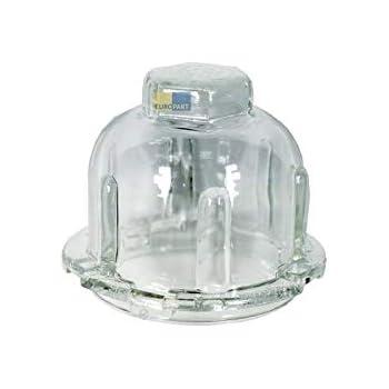 ORIGINAL Lampenabdeckung Abdeckung Lampenglas Kunststoff Trockner Miele 1567834