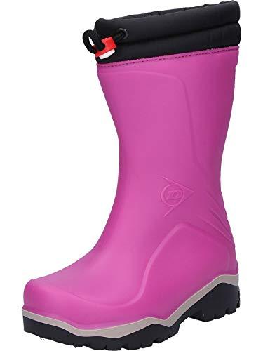 Dunlop Blizzard gefütterte Herren Gummistiefel, Rosa 26 EU