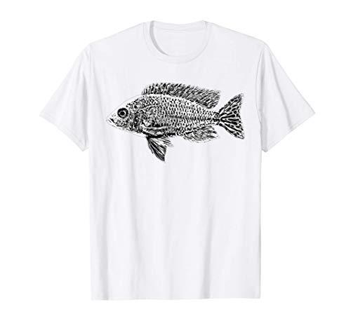 Aquarium Malawisee Buntbarsch Aulonocara Kaiserbuntbarsch T-Shirt