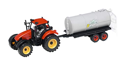 Warenhandel König Abono remolque de abono tractor con remolque de transporte para...