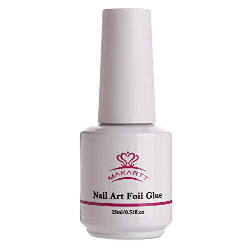 Makartt Nail Art Foil Glue Gel für Foil Stickers Nageltransfer Tipps Maniküre Art DIY 15ML