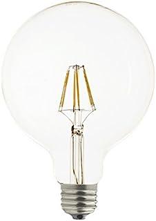 Laes 983814 Bombilla Globe Filamento LED E27, 6 W, 95 x 139 mm