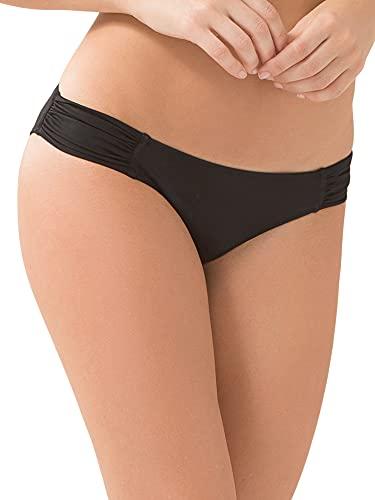 """Smart & Sexy Womens Swim Secret Side Ruched Bikini Bottom"""