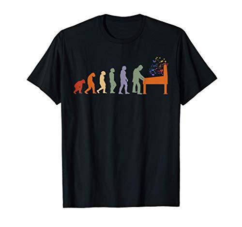 Évolution Pinball Jeu d'arcade Flipper Machine retro flipper T-Shirt