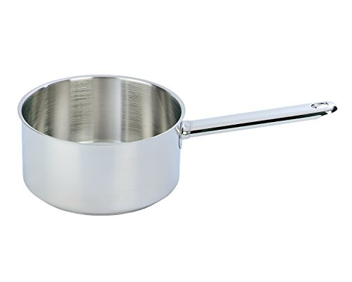 DEMEYERE Saucepan 18 cm Single Pan – Frying pans (Single Pan, Silver, Metal, 18 cm)