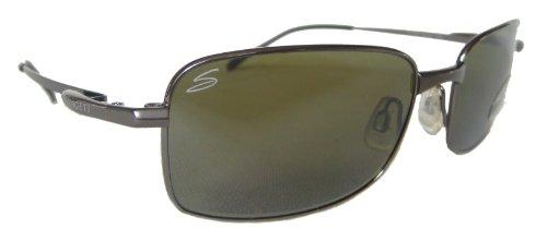 SERENGETI mannen/dames 555 NM gepolariseerde ontwerper zonnebril & gratis zaak 7322 Siena