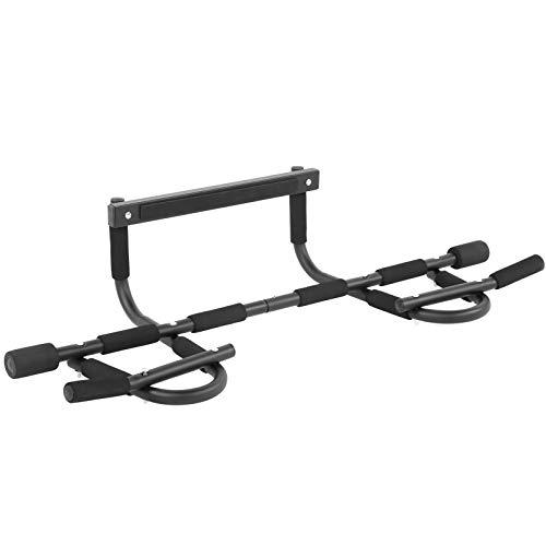 Barra de tracción para puerta barra de tracción para puerta de gimnasio múltiple barra de barbilla para arriba equipo de ejercicio para gimnasio, barra de entrenamiento para la parte superior del